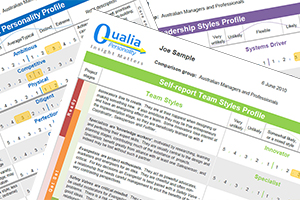 Qualia Personality Questionnaire for HR | Insight Initiatives psychologists